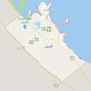 موقع مدينه الجبيل